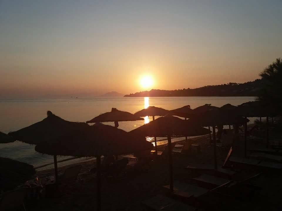 Magical Sunsets in Porto Paradiso - Vromolimnos Beach