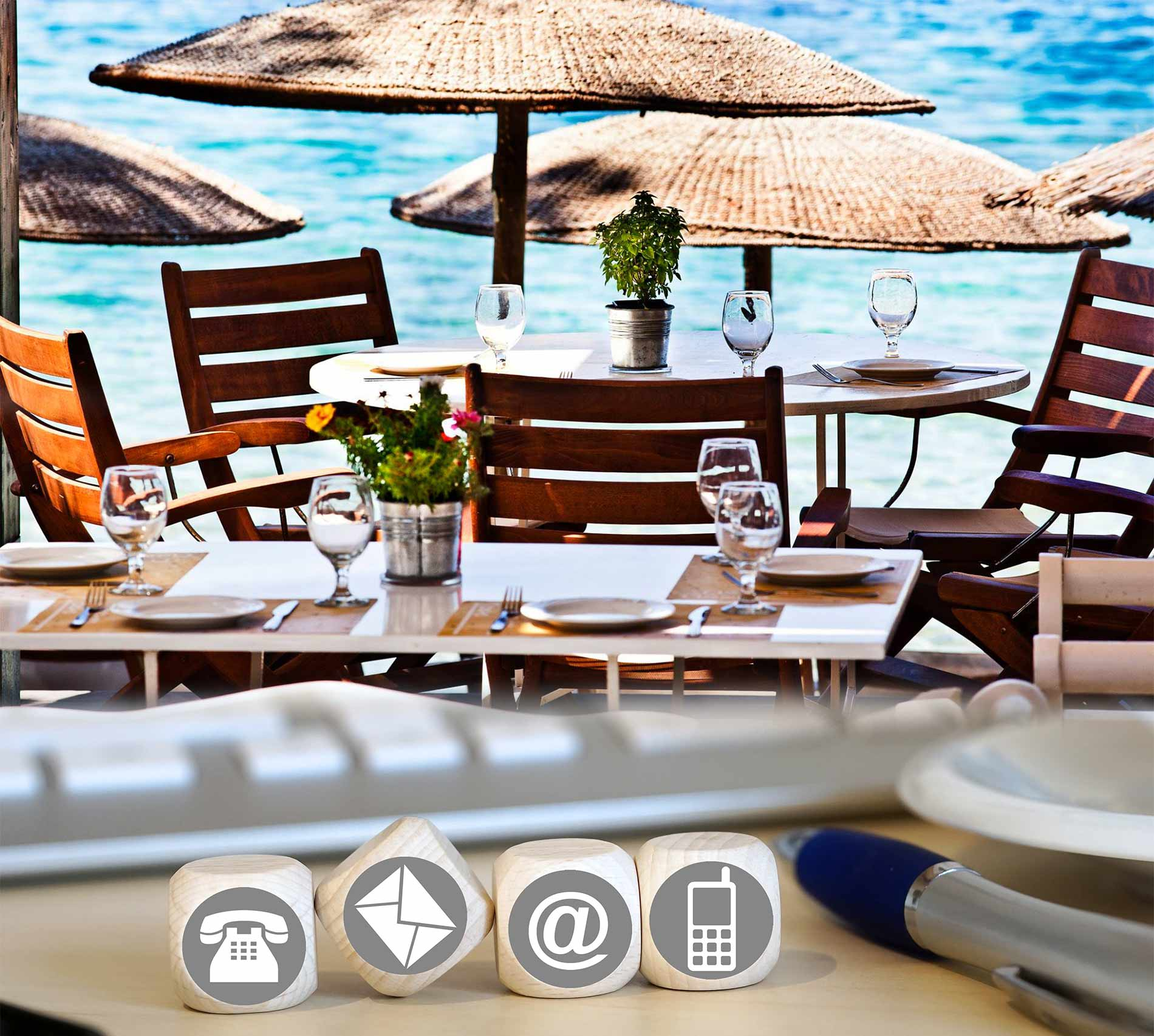 Great Beach Bar and Restaurant.... by Nico in Trip Advisor
